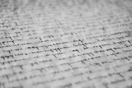 abstract black and white blur book