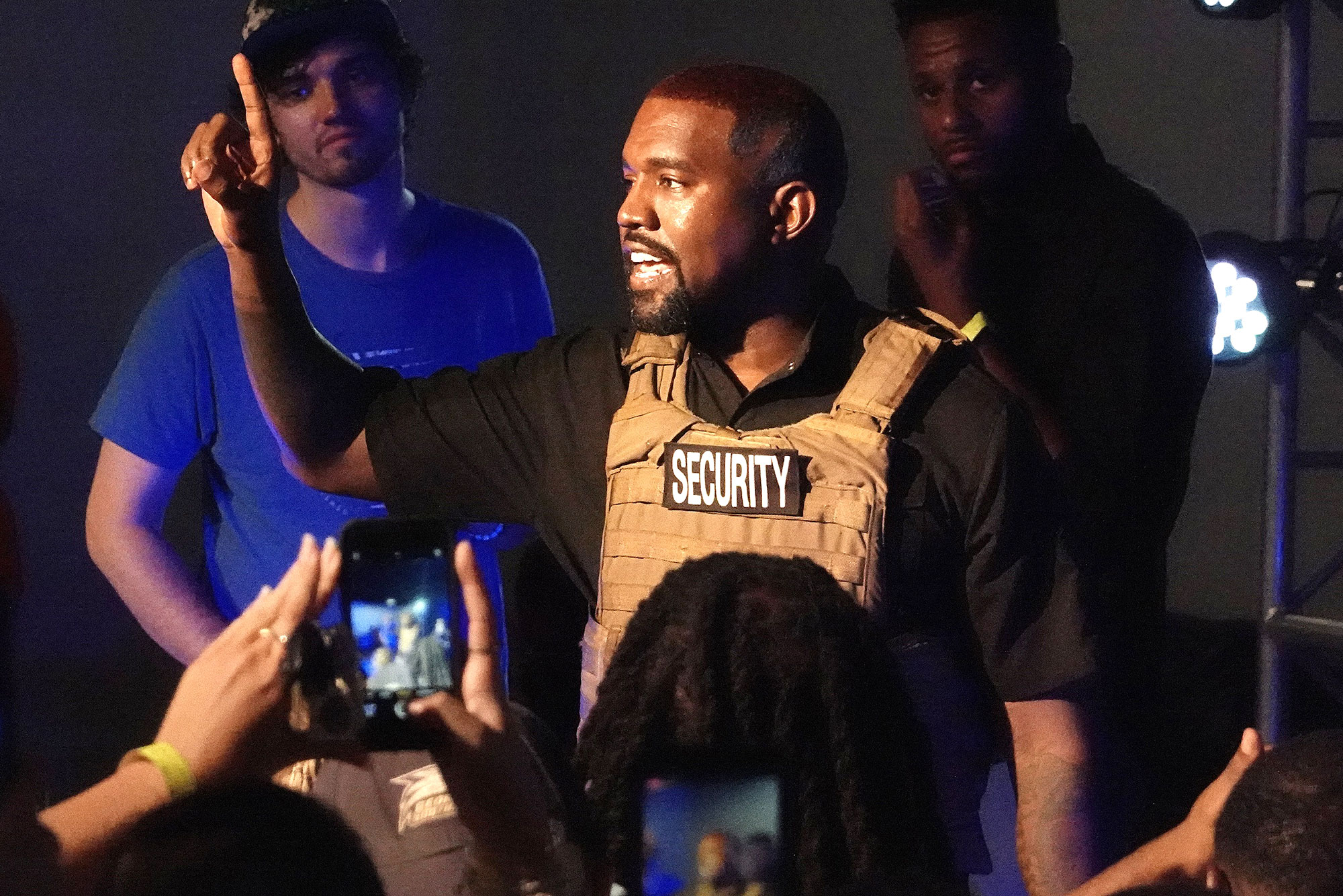 Feature-Kanye-West-Outrageous-Statements-From-1st-Presidential-Campaign-Rally